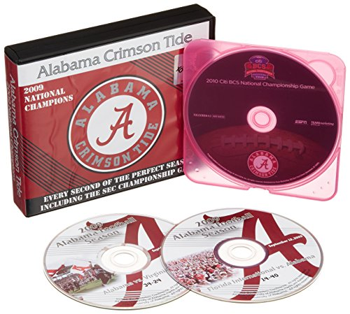 Alabama Crimson Tide: The 2009 Perfect Season + Championship Game DVD Collection