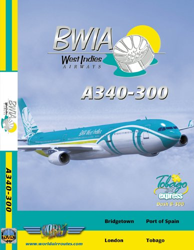 BWIA Airbus A340-300
