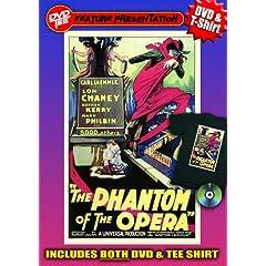 Phantom of the Opera DVDTee (Large)