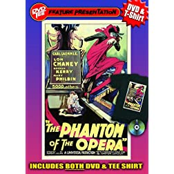 Phantom of the Opera DVDTee (Large)