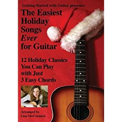 The Easiest Holiday Songs Ever for Guitar
