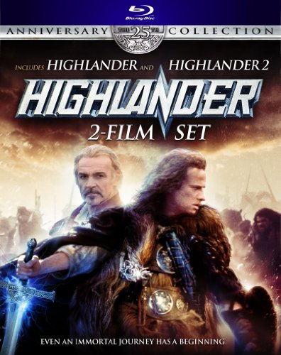 Highlander 2-Film Set (Highlander / Highlander 2) (Anniversary Collection) [Blu-ray]
