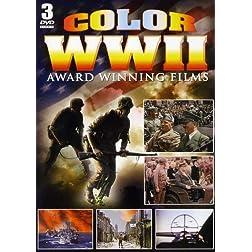 Color WWII Award Winning Films - 3 DVD Set!