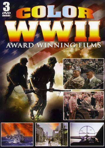 Color WWII Award Winning Films - 3 DVD Set!