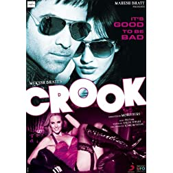 Crook: It's Good to Be Bad (New Hindi Film / Bollywood Movie / Indian Cinema DVD)
