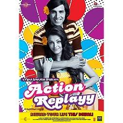 Action Replayy (New Akshay- Aishwarya Comedy Hindi Movie / Bollywood Film / Indian Cinema DVD)
