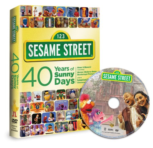 Sesame Street: 40 Years of Sunny Days plus Bonus Disc (Amazon Exclusive)