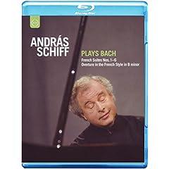 Andras Schiff Plays Bach [Blu-ray]
