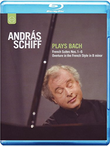 Andras Schiff Plays Bach [Blu-ray]