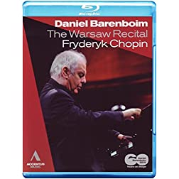 Warsaw Recital Daniel Barenboim [Blu-ray]