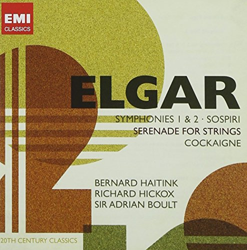 Elgar: Symphonies 1 & 2 / Sospiri / Serenade for Strings / Cockaigne