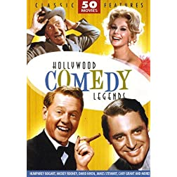 Hollywood Comedy Legends - 50 Movie Pack