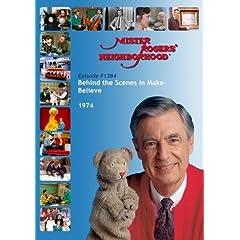 Mister Rogers' Neighborhood: #1384 Behind the Scenes in Make-Believe (1974)