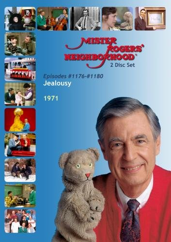 Mister Rogers' Neighborhood: Jealousy (#1176-1180) Glamorous Collette Comes to Visit (2 Disc)