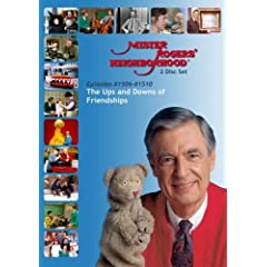 Mister Rogers' Neighborhood: (#1506-1510) Friendships - The Ups and Downs of Friendship  (2 Disc)