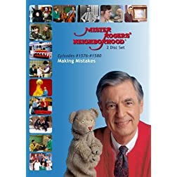 Mister Rogers' Neighborhood: Making Mistakes (#1576-1580) Everyone Makes Mistakes (2 Disc)