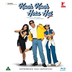 Kuch Kuch Hota Hai (Shahrukh Khan - Karan Johar / Bollywood Movie / Indian Cinema / Hindi Film Blu-ray DVD)