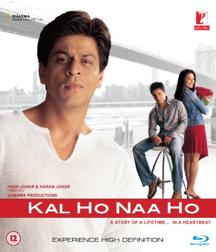 Kal Ho Naa Ho (Shahrukh Khan - Karan Johar / Bollywood Movie / Indian Cinema / Hindi Film Blu-ray DVD)