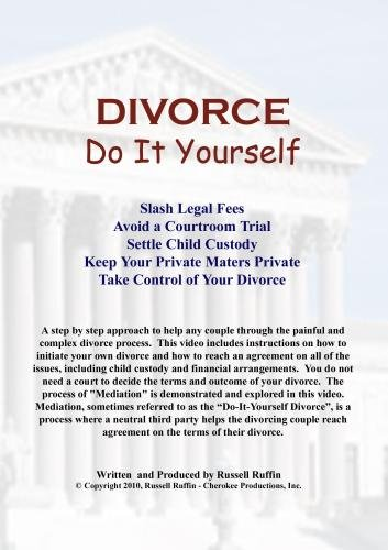 Divorce: Do It Yourself