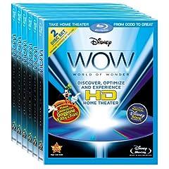 Disney WOW: World of Wonder Six Pack (Amazon.com Exclusive) [Blu-ray]