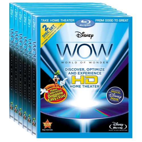 Disney WOW: World of Wonder Six Pack (Amazon.com Exclusive) [Blu-ray]
