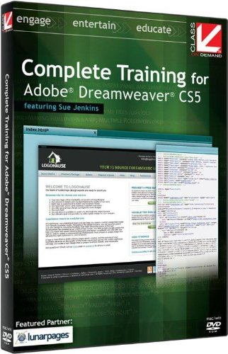 Class on Demand: Complete Training for Adobe Dreamweaver CS5 Educational Training Tutorial DVD