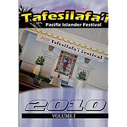 Tafesilafa'i 2010 Volume I