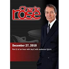Charlie Rose - Part 2 of an hour with Jay-Z with audience Q & A (December 27, 2010)