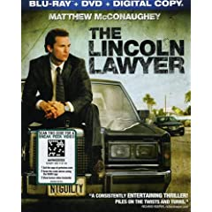 The Lincoln Lawyer (Two-Disc Blu-ray/DVD Combo + Digital Copy)