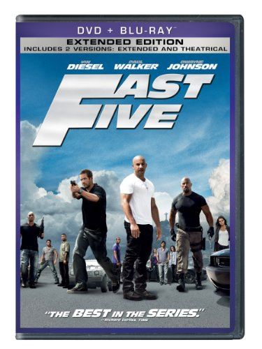 Fast Five (Two-Disc DVD/Blu-ray Combo + Digital Copy in DVD Packaging)