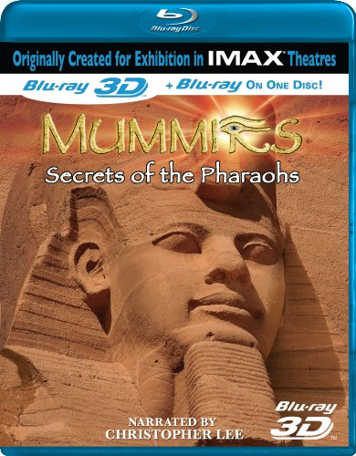 Mummies: Secrets of the Pharaohs [Blu-ray 3D]