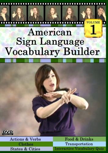 American Sign Language Vocabulary Builder, Volume 1