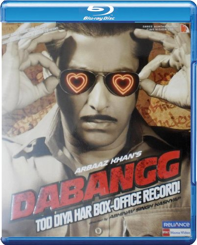 Dabangg [Blu-ray] (Salman Khan's Action Hindi Film / Bollywood Movie / Indian Cinema)