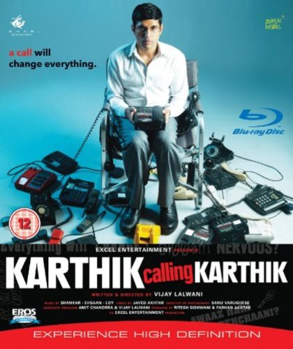 Karthik Calling Karthik [Blu-ray] (Farhan Akhtar Hindi Film / Bollywood Movie / Indian Cinema)