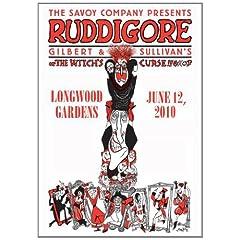 "The Savoy Company Presents Gilbert & Sullivan's ""Ruddigore"""