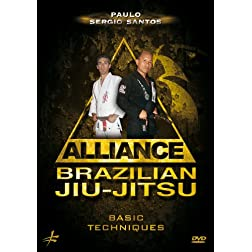 Santos, Paulo Sergio - Alliance Brazilian Jiu-jitsu: Basic Techniques