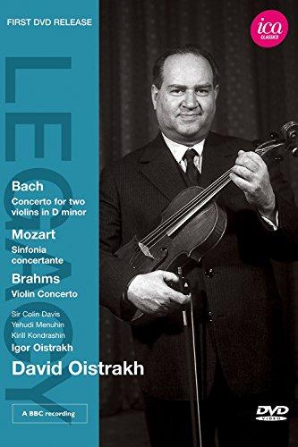 David Oistrakh  - Bach: Concerto for two violins; Mozart: Sinfonia concertante; Brahms: Violin Concerto