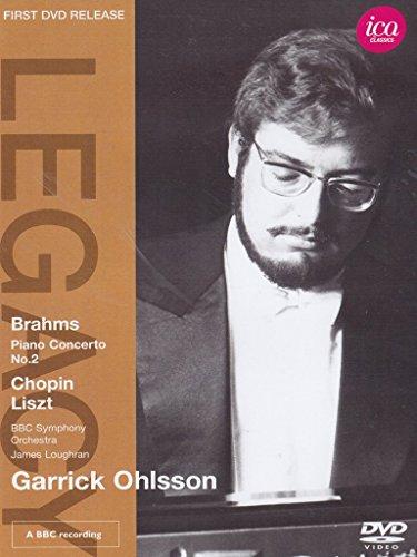 Garrick Ohlsson - Brahms: Piano Concerto No. 2; Chopin: Scherzo Op. 20, Polonaise Op. 53; Liszt: Funerailles