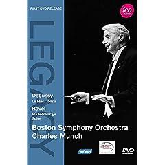 Charles Munch & Boston Symphony Orchestra - Debussy: La Mer, Iberia; Ravel: Ma Mere l'Oye Suite
