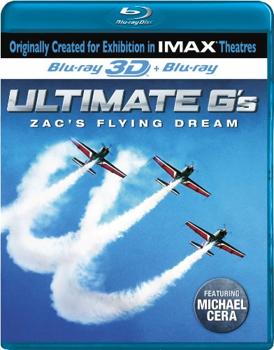 Ultimate G's: Zac's Flying Dream (IMAX) [3D Blu-ray]