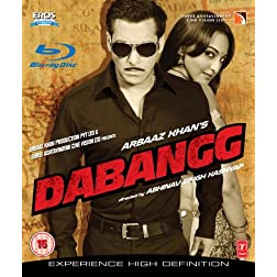 Dabangg Bollywood Blu Ray With English Subtitles [Blu-ray]