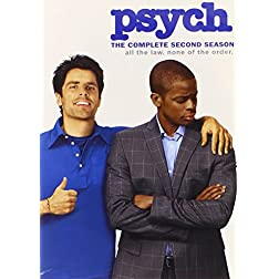 Psych: Complete Second Season