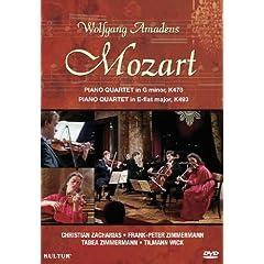 Wolfgang Amadeus Mozart: Piano Quartets K478 & K493