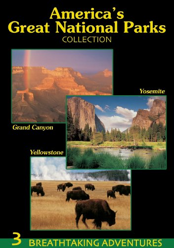America's Great National Parks Collection (Grand Canyon, Yosemite, Yellowstone)