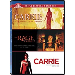 Carrie Triple Feature