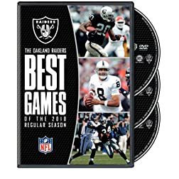 NFL Oakland Raiders Best Games of 2010 Season