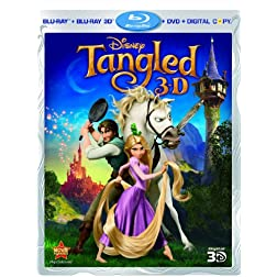 Tangled (Four-Disc Combo: Blu-ray 3D/Blu-ray/DVD/Digital Copy)