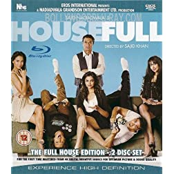 Housefull (Comedy Bollywood Movie / Indian Cinema / Hindi Film Blu-ray DVD)