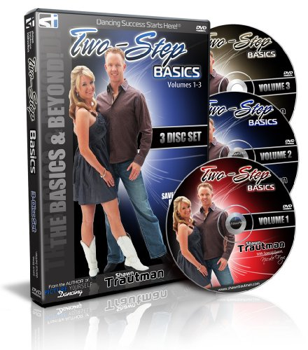 Two-Step Basics: Vol. 1-3 (3 DVD set - Shawn Trautman Instruction)