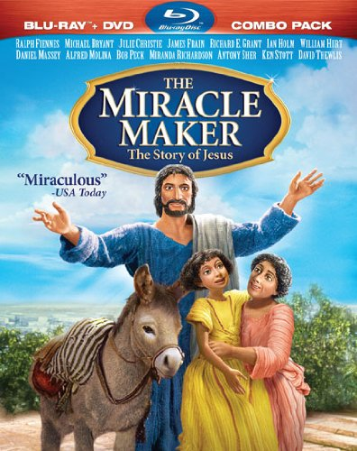 Miracle Maker: The Story of Jesus (Two-Disc Blu-ray/DVD Combo)